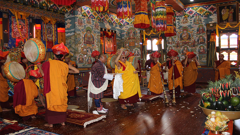 Consecration of Changjiji Lhakhang by Chabje Rinpoche